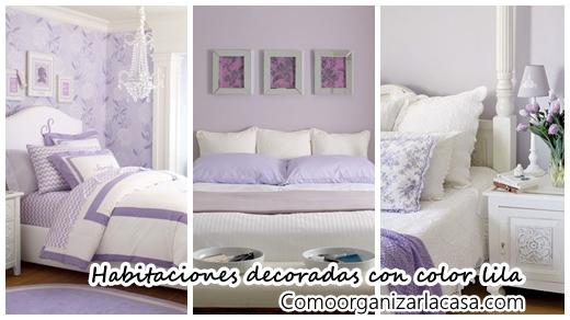 Habitaciones Infantiles Color Lila.28 Opciones Para Decorar Habitaciones Con El Color Lila Como
