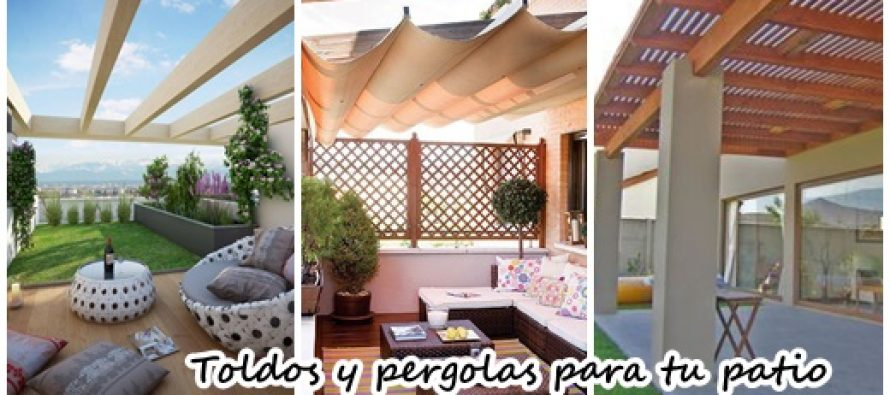 29 opciones fantasticas de pergolas y toldos para tu patio