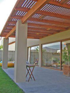 29 opciones fantasticas pergolas toldos patio 4 - Toldos para patios interiores ...