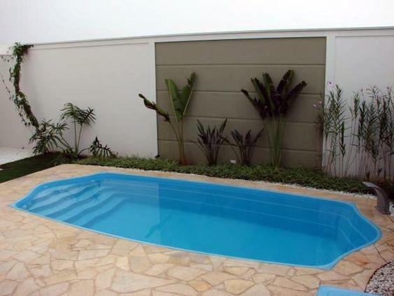 30 disenos albercas jardines pequenos 1 como organizar Disenos de albercas en patios pequenos