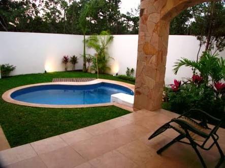 30 disenos albercas jardines pequenos 16 decoracion de Disenos de albercas en patios pequenos