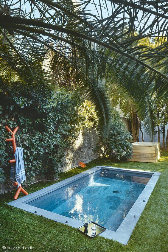 30 disenos albercas jardines pequenos 25 curso de Disenos de albercas en patios pequenos