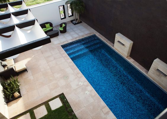 30 disenos albercas jardines pequenos 3 decoracion de for Diseno de albercas en espacios pequenos