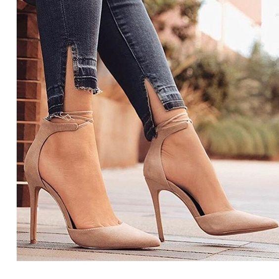 30 diseños de zapatos en color nude ¡Combinan con todo!
