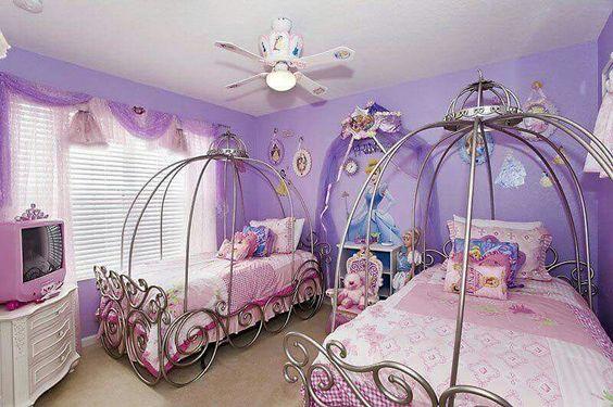 Princess Wall Decorations Bedrooms