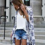 30 Outfits con kimonos para verano