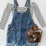 30 outfits con overol en short