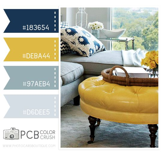 31 ideas de Decoración con amarillo y azul marino