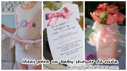 31 Ideas para organizar un baby shower para niña
