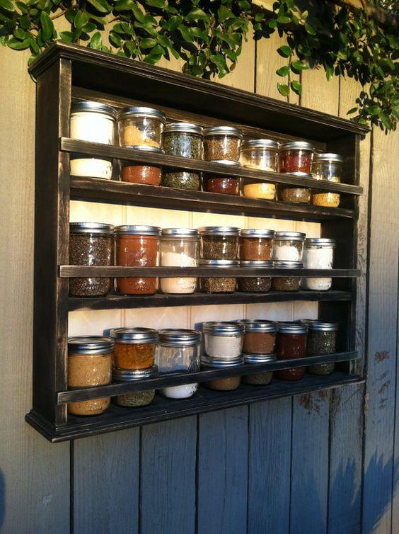 31 increibles ideas organizar especieros 17 decoracion - Ideas para organizar la casa ...