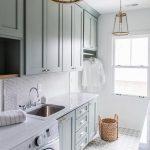 32 diseños de pisos para un cuarto de lavado moderno