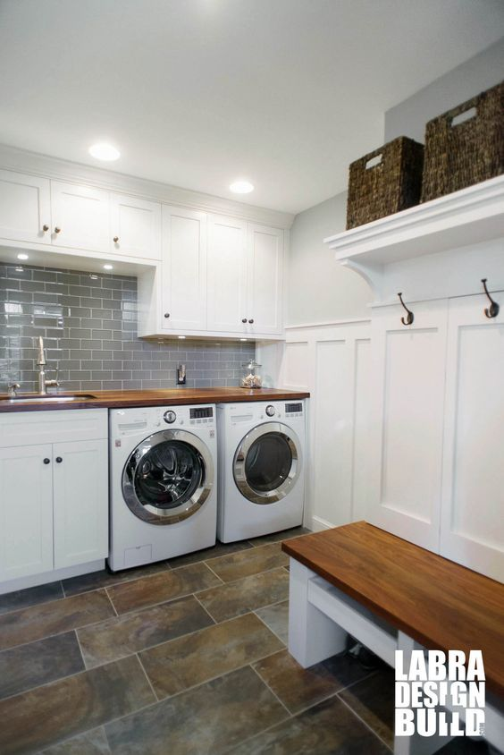 32 disenos pisos cuarto lavado moderno 22 decoracion for Diseno de muebles para cuarto de lavado