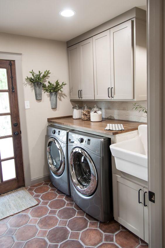 32 disenos pisos cuarto lavado moderno 26 for Lavaderos modernos