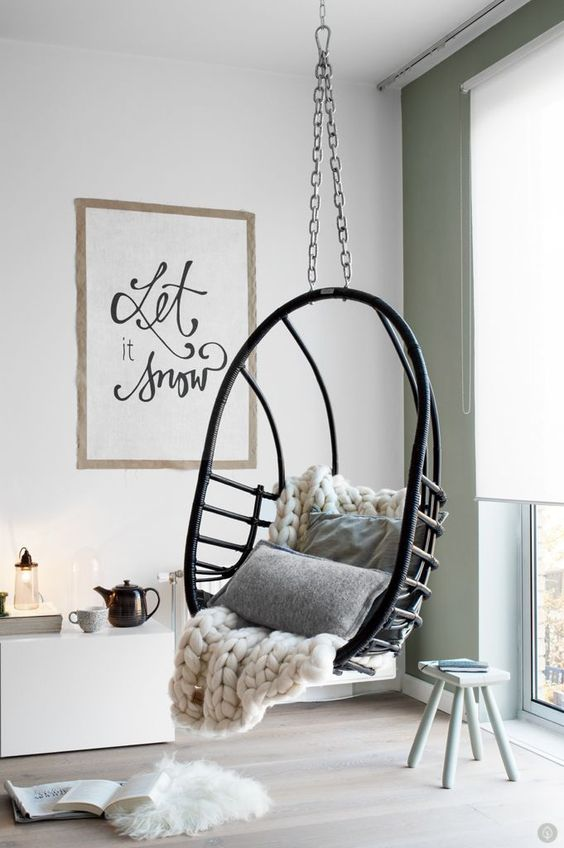 32 disenos sillas colgantes interiores te encantaran 1 for Sillas colgantes interior