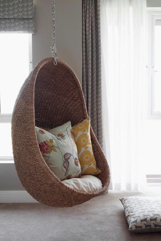 32 disenos sillas colgantes interiores te encantaran 15 for Sillas colgantes para jardin