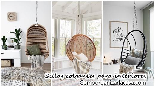 32 dise os de sillas colgantes para interiores te - Sillas colgantes interior ...