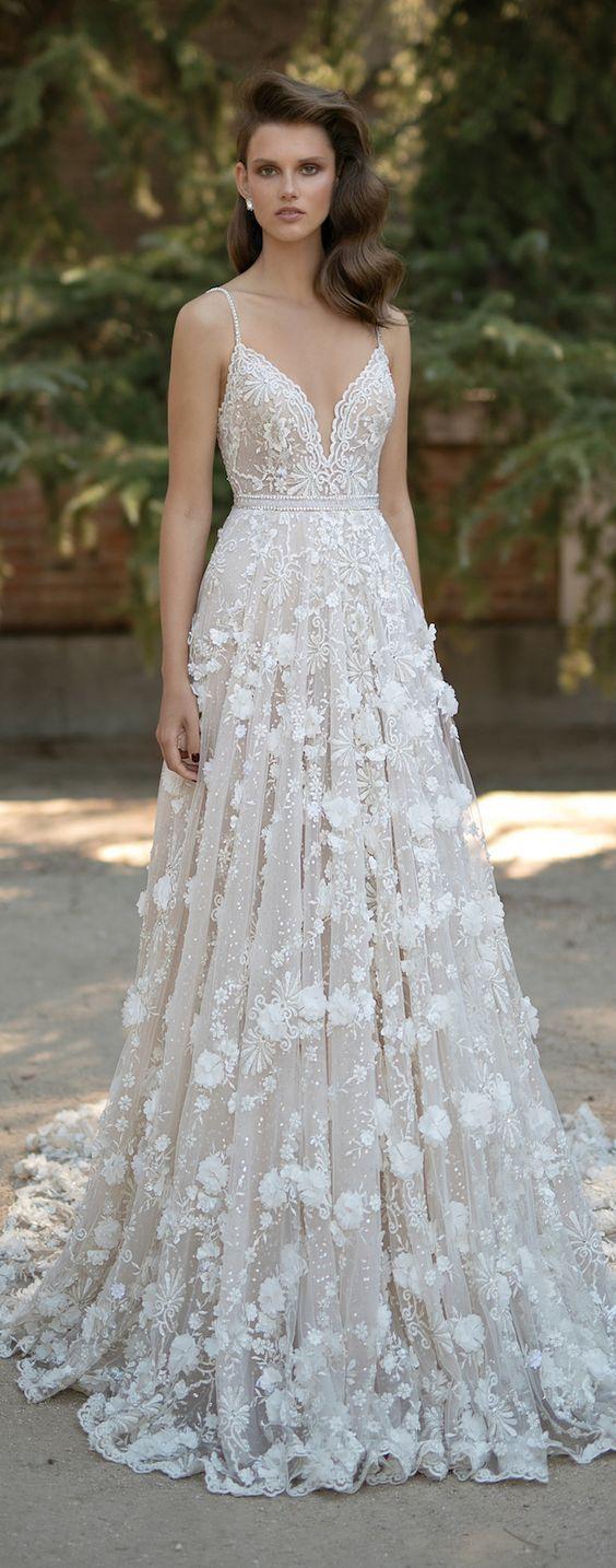 32 Diseños de vestidos de novia para primavera-verano