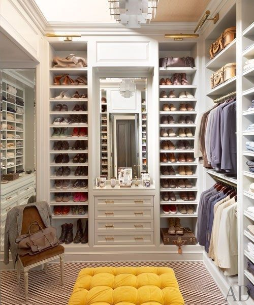 Custom Closet Ideas Designs: 32-ideas-closets-zapatos (19