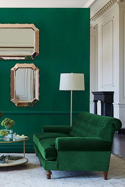 32 ideas decoracion interiores color verde esmeralda 11 - Ideas decoracion de interiores ...