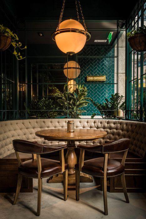 32 ideas decoracion interiores color verde esmeralda 28 for Best color for restaurant interior