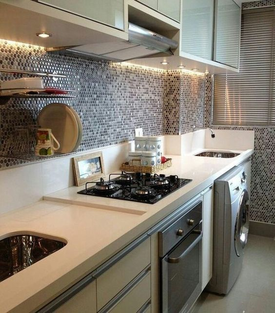 32 modelos salpicaderos cocina 24 decoracion de for Modelos de muebles de cocina modernos