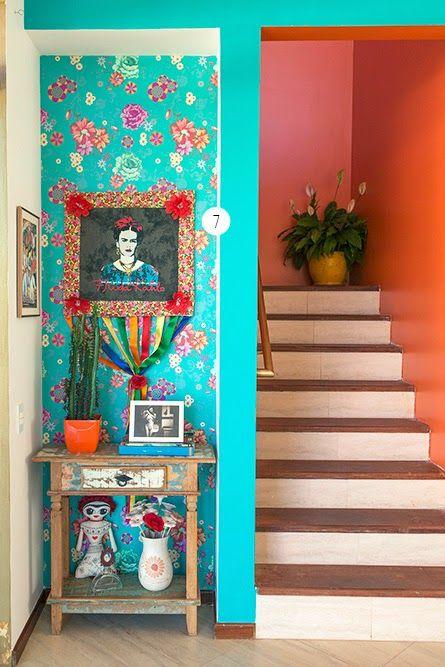33 ideas decoracion interiores inspiradas frida kahlo 2 - Ideas decoracion de interiores ...