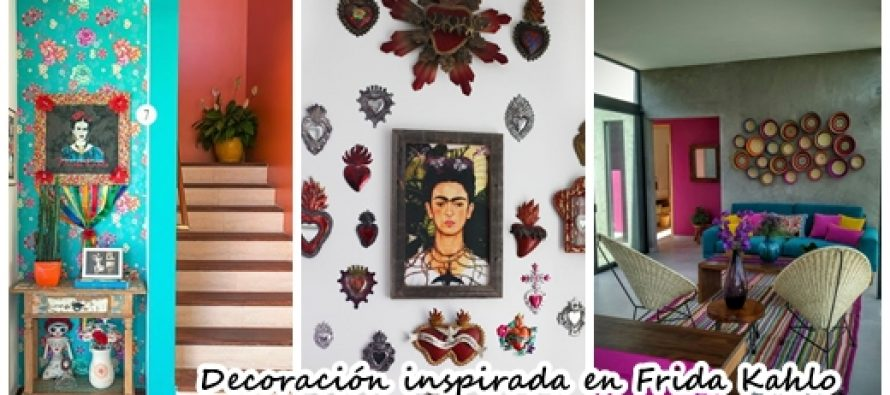ideas de decoracin de interiores inspiradas en frida kahlo