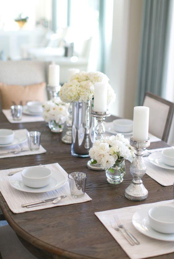 33 ideas decorar comedor casa 22 decoracion de for Ideas para decorar interiores de casas