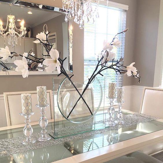 33 ideas decorar comedor casa 27 decoracion de for Ideas para decorar interiores de casas