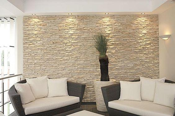 33 ideas para decorar con piedra las paredes de tu casa 13 como organizar la casa fachadas - Camino a casa decoracion ...
