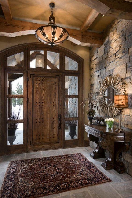 33 ideas para decorar con piedra las paredes de tu casa 14 - Ideas rusticas para decorar ...