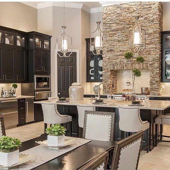 33 ideas para decorar con piedra las paredes de tu casa - Ideas para remodelar tu casa ...