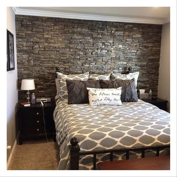 33 ideas para decorar con piedra las paredes de tu casa 8 for Decoracion pared piedra