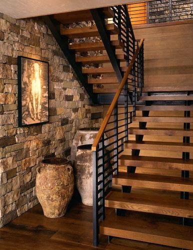 ideas para decorar con piedra las paredes de tu casa