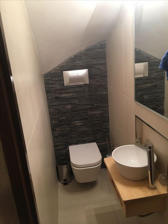 34 disenos banos las escaleras 3 decoracion de for Bano debajo escalera diseno