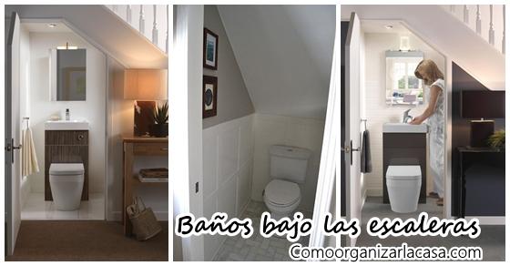 34 dise os de ba os bajo las escaleras decoracion de for Disenos de banos para casas pequenas