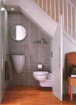 34 Diseños De Baños Bajo Las Escaleras Como Organizar La