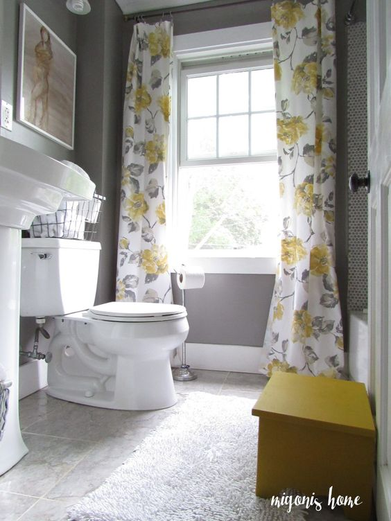 34 disenos cortinas bano 1 decoracion de interiores - Cortinas de bano diseno ...