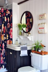 34 Diseños de cortinas para baño