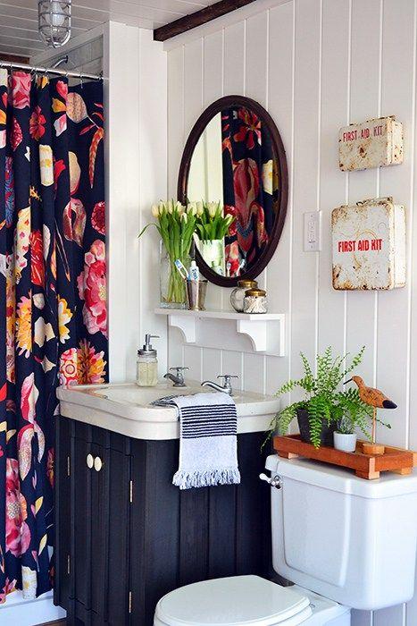 34 disenos cortinas bano 3 decoracion de interiores fachadas para casas como organizar la casa - Cortinas de bano de diseno ...