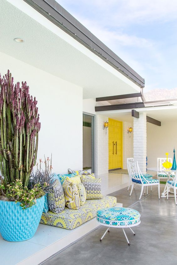 34 Ideas Para Decorar Terrazas En Color Turquesa Como