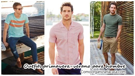 be6f6e89ab 34 Outfits primavera-verano para hombres