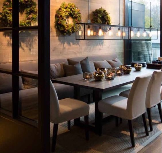 50 Dining Room Decorating Ideas And Pictures: 35-disenos-comedores-moda (1)