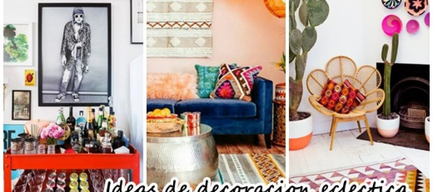 36 ideas de decoración eclectica