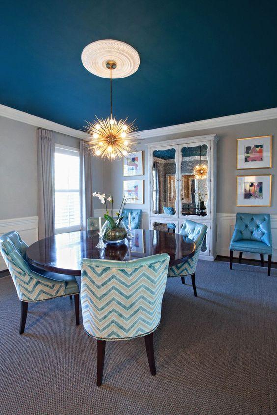 36 ideas decoracion interiores color azul turquesa 17 for Ideas decoracion interiores