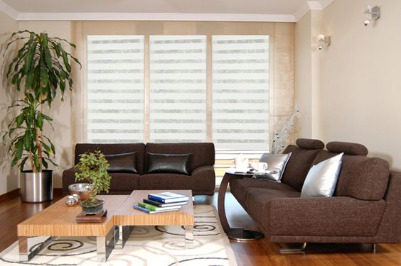 36 Persianas para decorar tu sala de estar