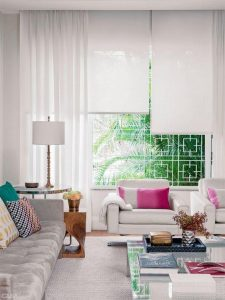 36 Persianas para decorar tu sala de estar