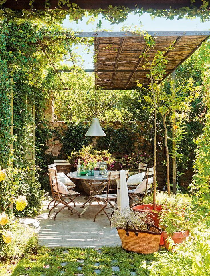 38 ideas decorar exteriores descanso 15 decoracion de for Ideas para decorar exteriores