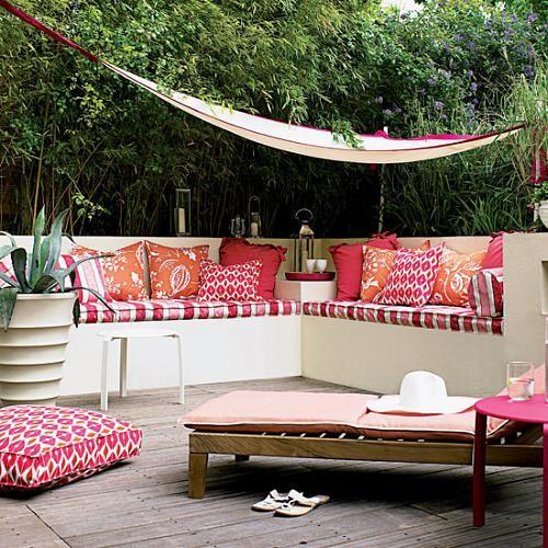 38 Ideas para decorar exteriores para descanso
