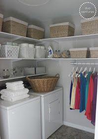 39 Ideas para organizar tu cuarto de lavado | Como Organizar ...